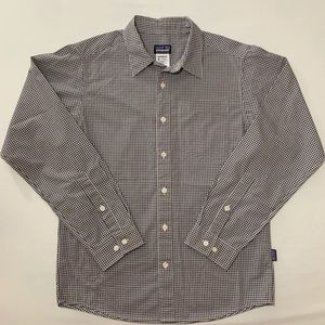 Patagonia Gingham Long Sleeve Button Shirt